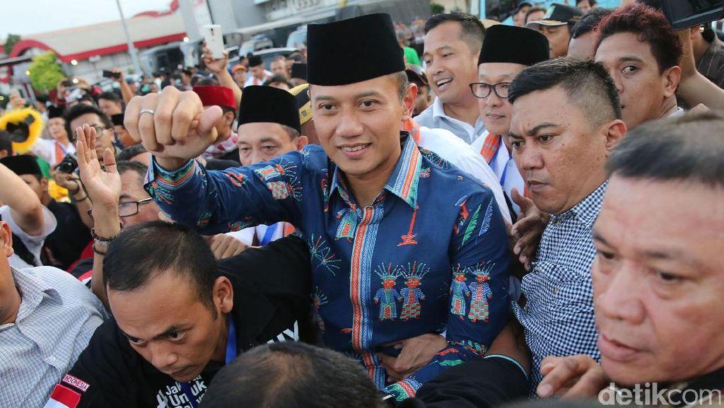 Agus Yudhoyono ke Relawan: Jaga Ketertiban dan Kebersihan Jakarta