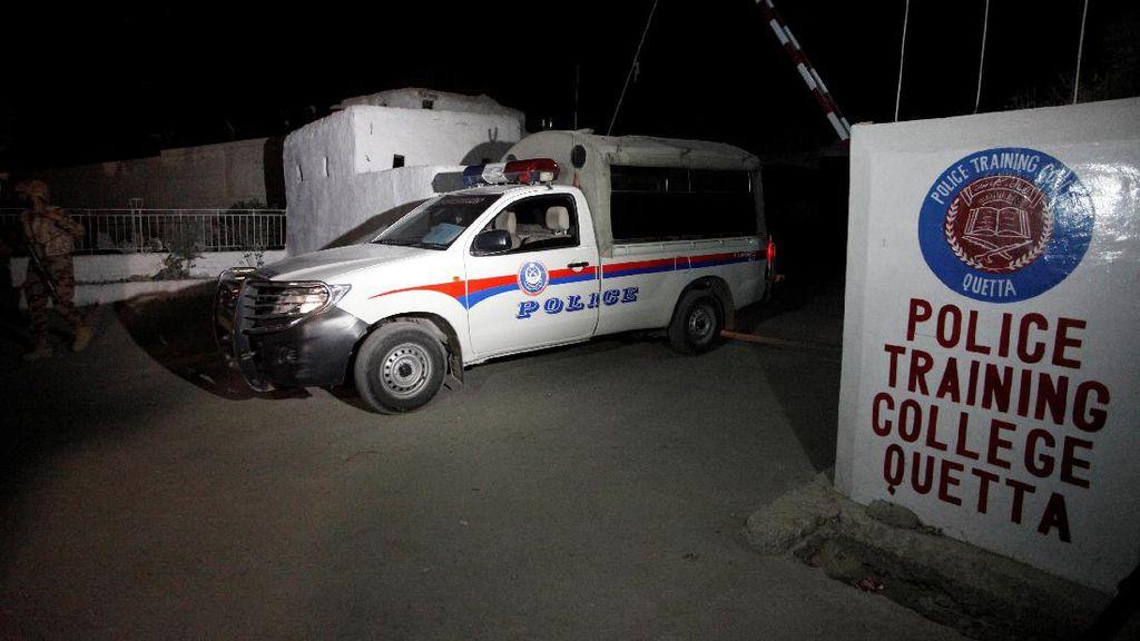 Akademi Kepolisian Pakistan Diserang Pria Bersenjata, 59 Orang Tewas