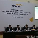 Bank Mandiri Raup Laba Rp 12 Triliun, Turun 17%
