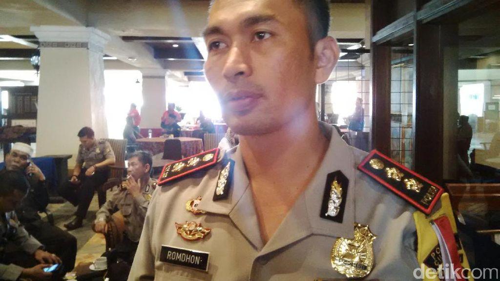 576 Polisi Amankan Pengundian Nomor Urut Pilkada Banten