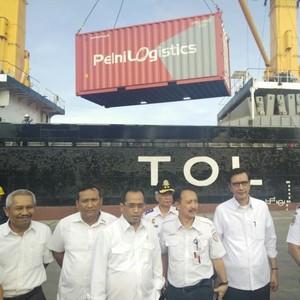 Ke Priok, Menhub Resmikan Keberangkatan Perdana Kapal Tol Laut Jakarta-Natuna
