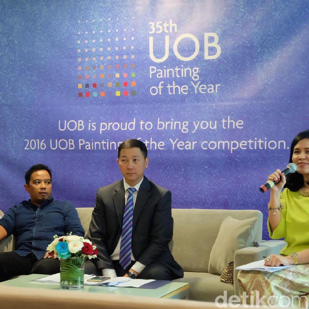Pendaftar Kompetisi Seni Lukis Tahunan UOB Membludak