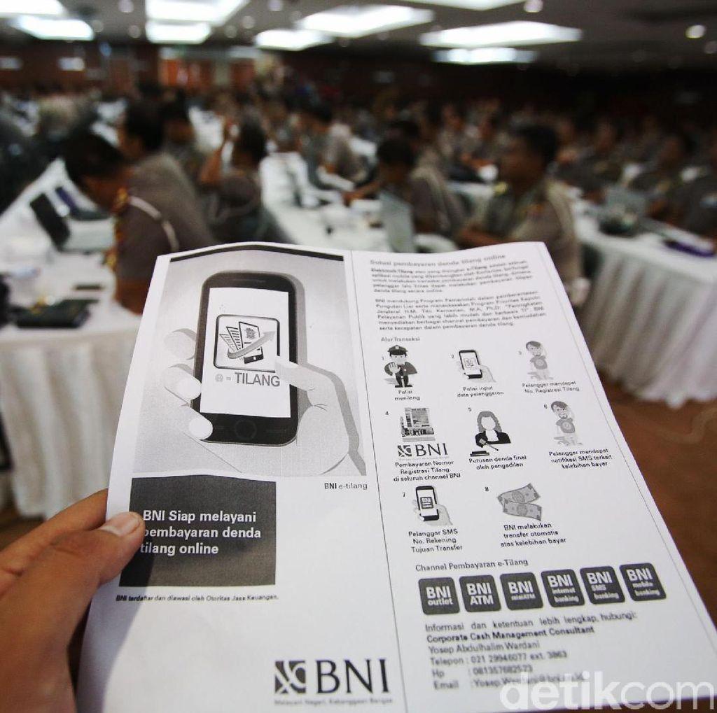 Aplikasi e-Tilang Polres Kediri Akan Diterapkan di 16 Polda di Indonesia