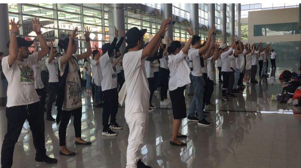 Flashmob Hingga Marawis Siap Sambut Ahok-Djarot di JIEXPO