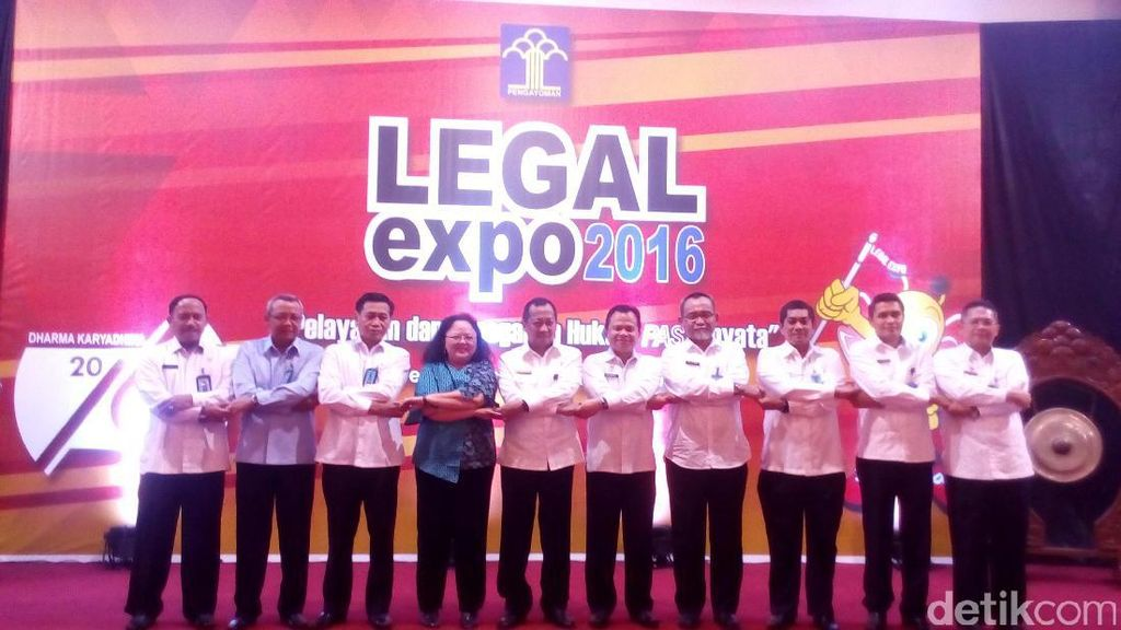 Gelar Legal Expo, Kemenkum HAM: Semoga Pembangunan Hukum Lebih Baik
