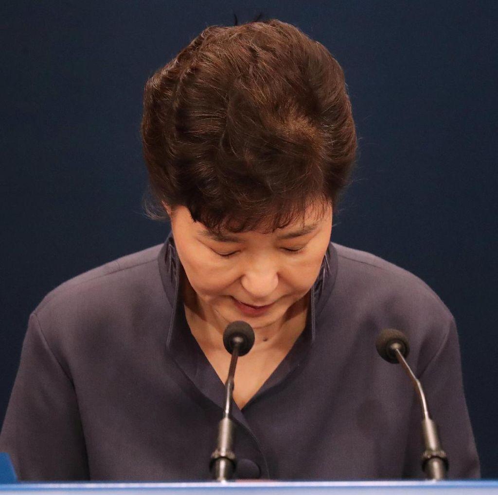 Draf Pidato Penting Diakses Temannya, Presiden Korsel Minta Maaf ke Rakyat