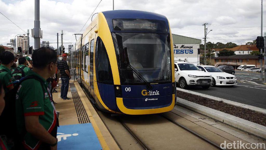Serunya Jelajah Gold Coast Menggunakan Trem