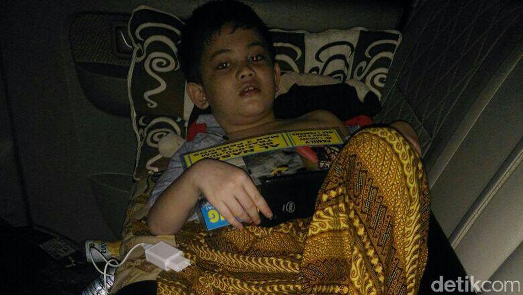 Bocah Korban Terlindas Truk Akhirnya Bisa Pulang ke Rumahnya di Cianjur