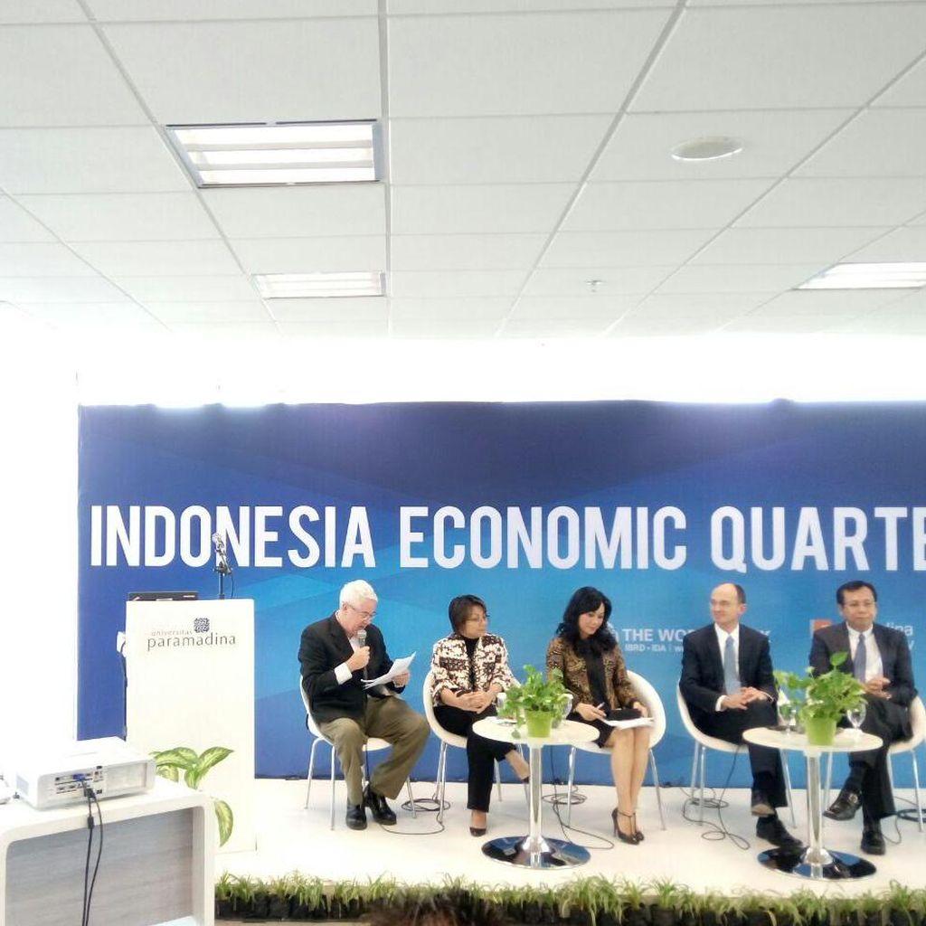 Bank Dunia: Ekonomi RI Tumbuh Positif di Tengah Pelemahan Ekonomi Global