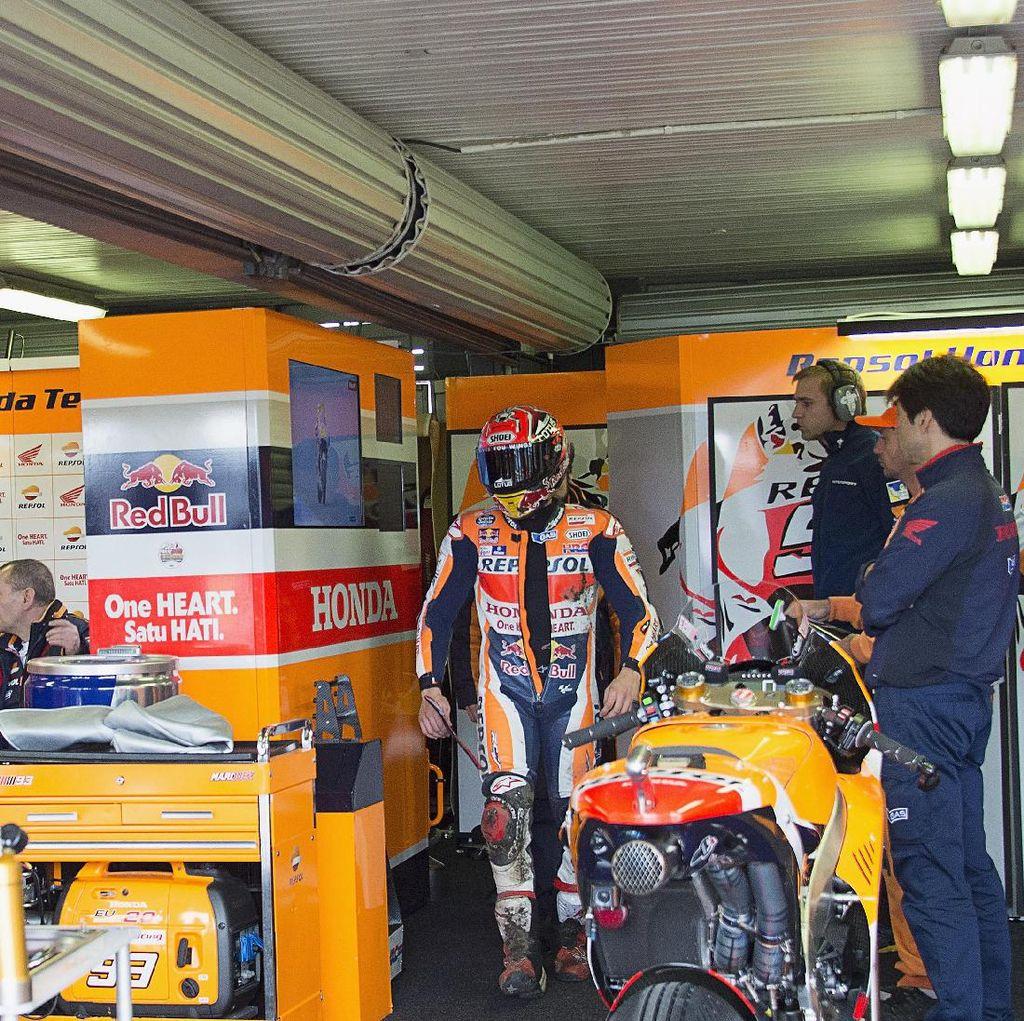 Ini Kata Marquez soal Wacana Dashboard Message di MotoGP