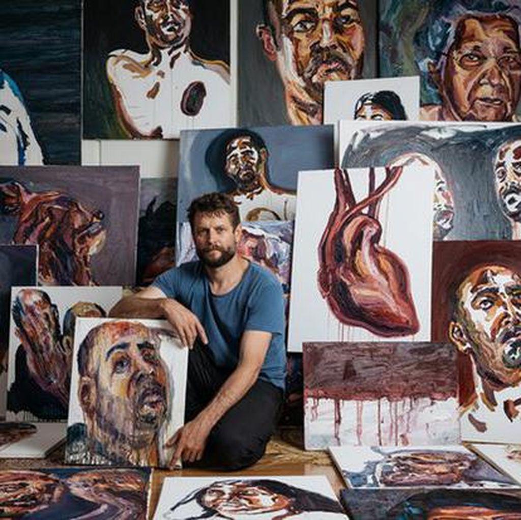 100 Lukisan Karya Pelukis Bali Nine Myuran Sukumaran Akan Dipajang di Sydney