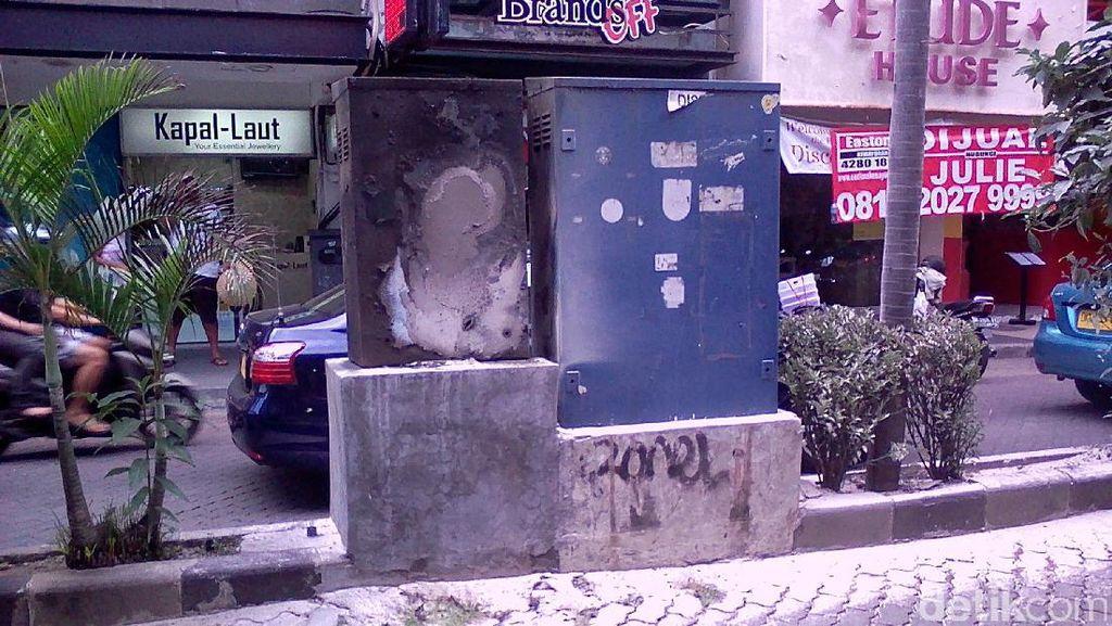 Ledakan Gardu Listrik di Kuta Kejutkan Turis, Sempat Dikira Bom