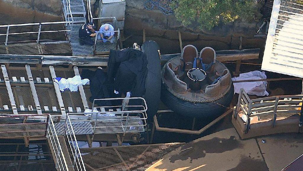 Tragis! 4 Orang Tewas Saat Naik Wahana Arung Jeram di Dreamworld Australia