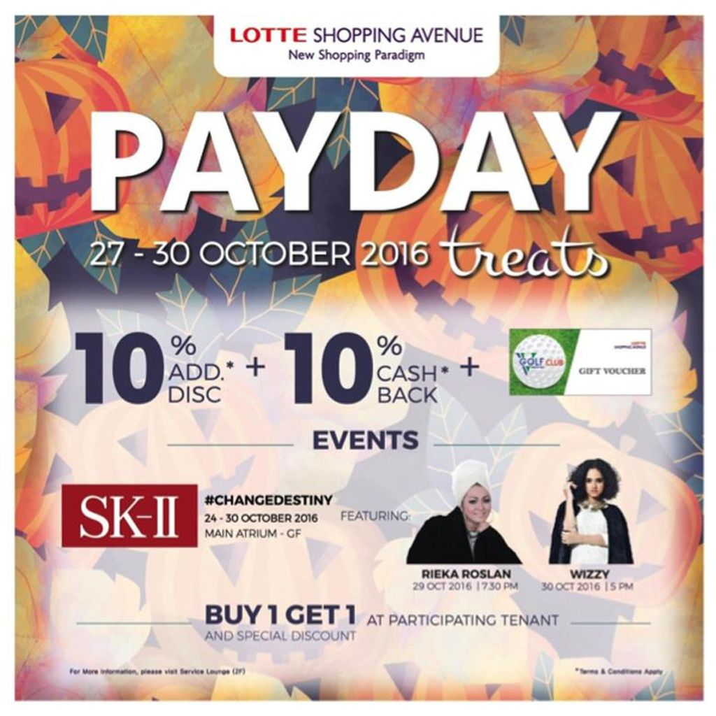 PAYDAY Treats & Program Seru di Lotte Shopping Avenue