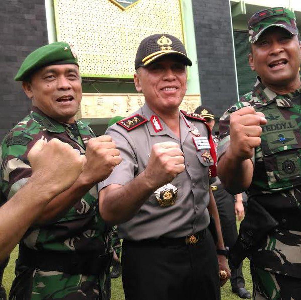 Amankan Pilkada, Kapolda Metro Minta TNI dan Polri Saling Tukar Info