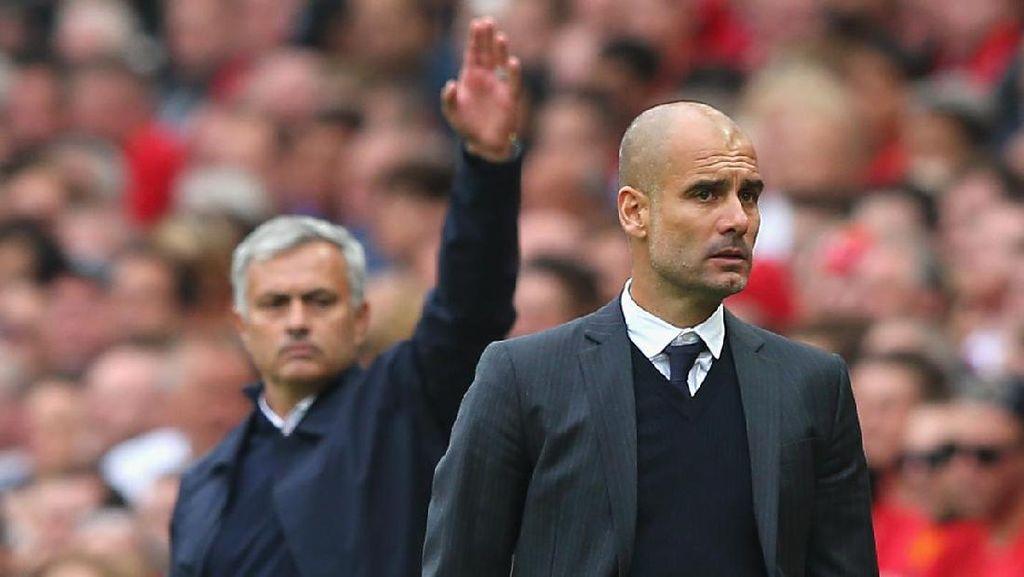 Peluang Mourinho Bangkit dan Kalahkan Guardiola