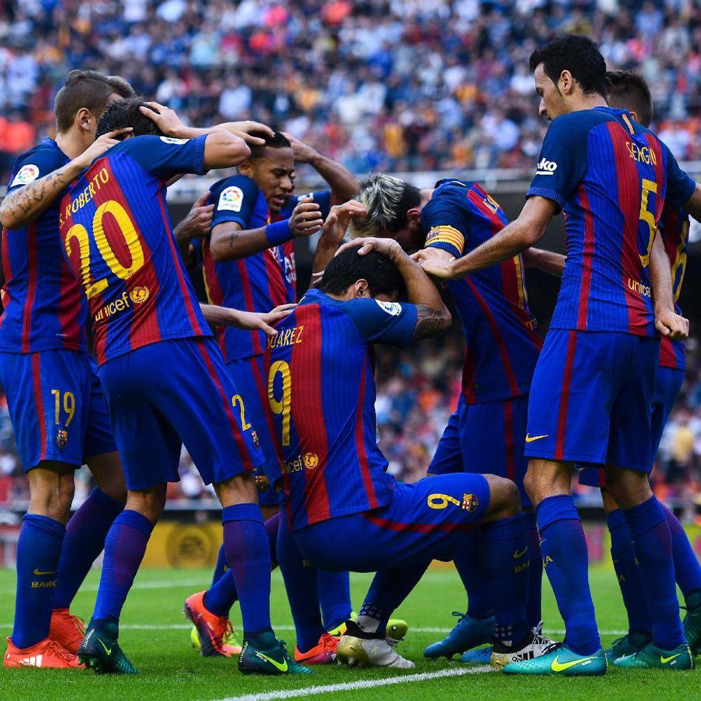Barcelona Laporkan Presiden La Liga ke Pengadilan Olahraga