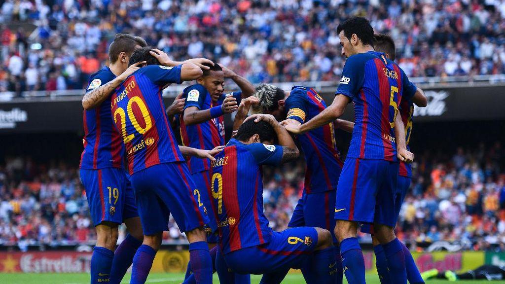 Soal Pelemparan Botol, Presiden La Liga Salahkan Provokasi Barca