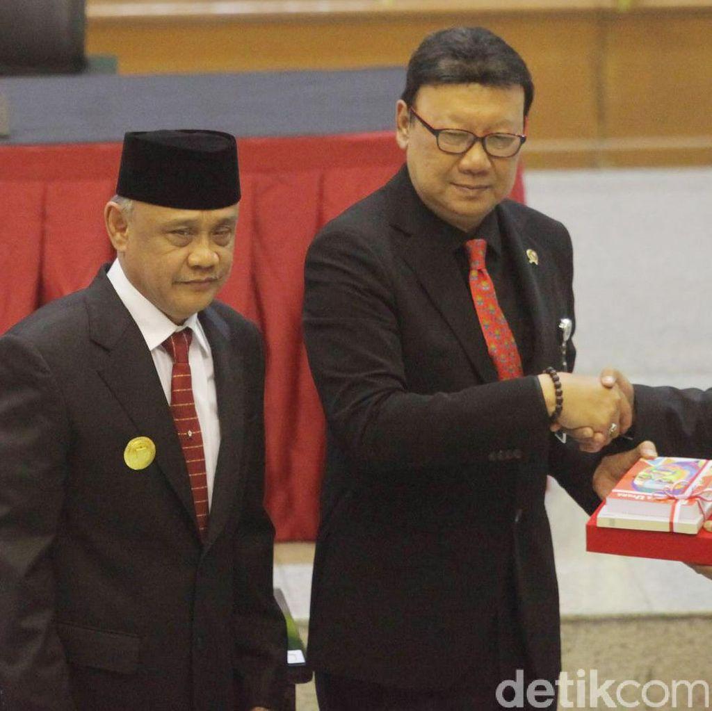 Cuti Kampanye, Rano Karno Pamit dari Rumah Dinas Gubernur Banten