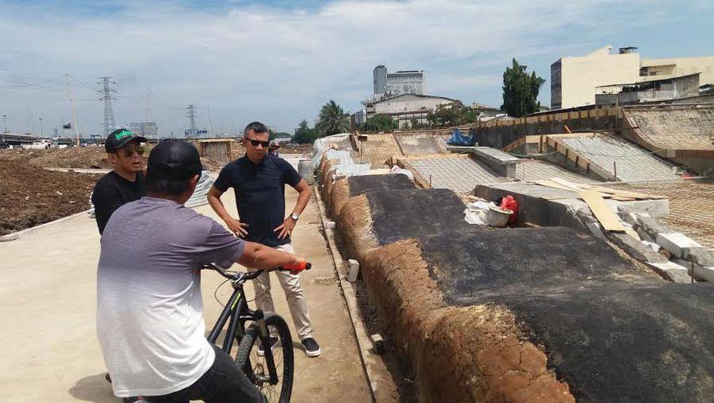 Melihat Progres Pembangunan Kawasan Kalijodo