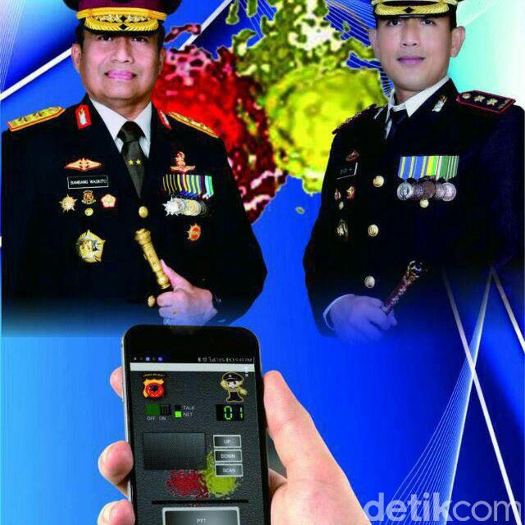 Biar Gampang Hubungi Polisi, Polres Ciamis Buat HT Online