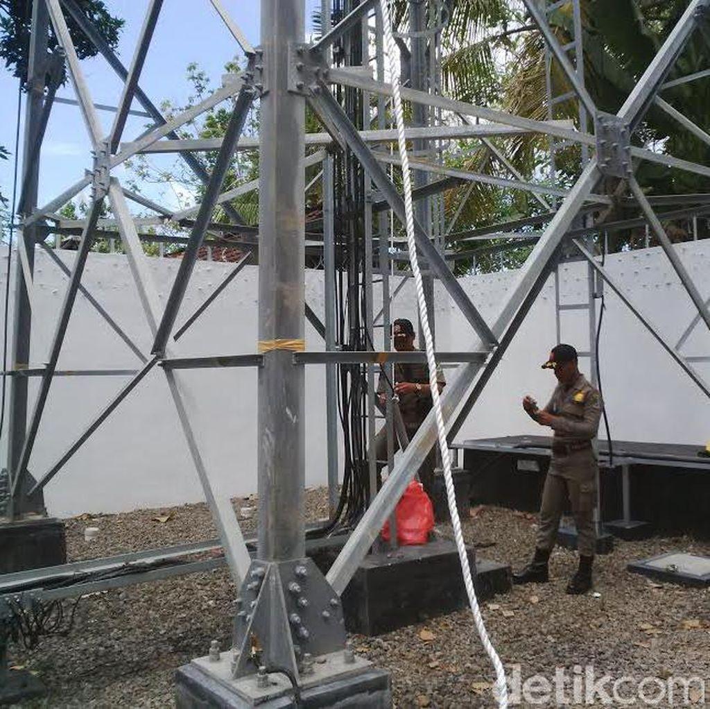 Tower Seluler di Banyuwangi Dibongkar karena Tak Berizin