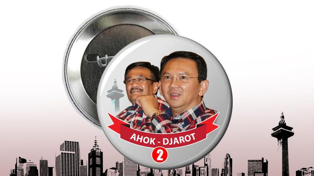 Hari Pertama Kampanye, Ahok-Djarot Akan Langsung Sapa Warga Jakarta