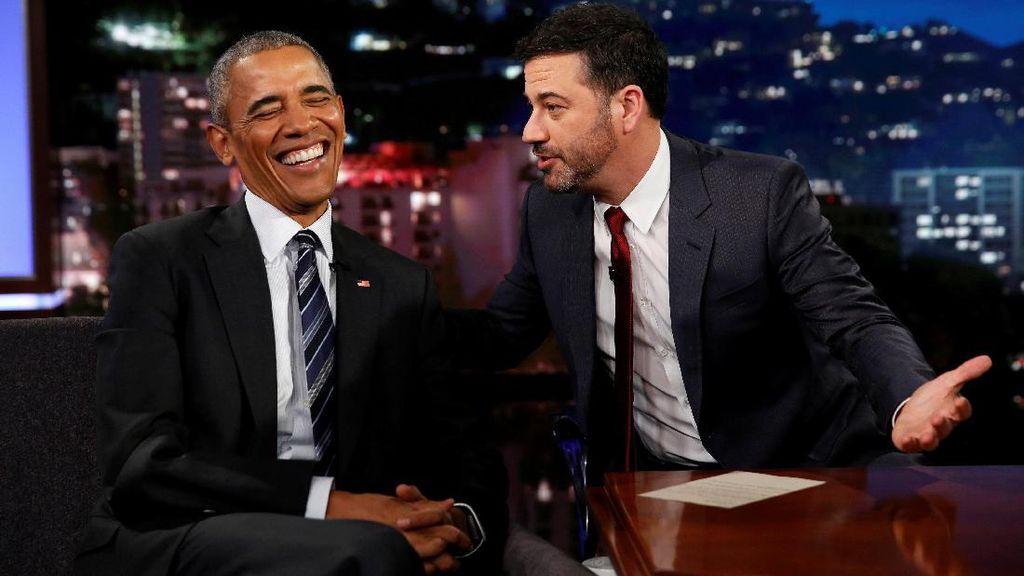 Saat Obama Jadikan Trump Bahan Lelucon di Acara Televisi AS