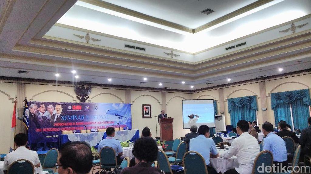Indonesia Belum Punya UU Kedaulatan Negara di Ruang Udara