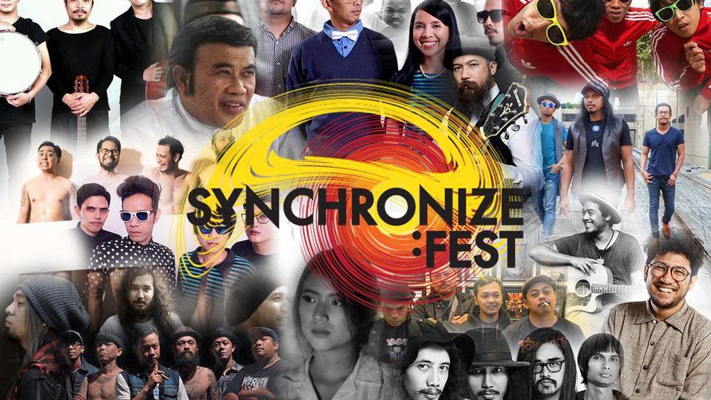 Mau Nonton Siapa Hari Ini di Synchronize Fest? Ini Line Up-nya!