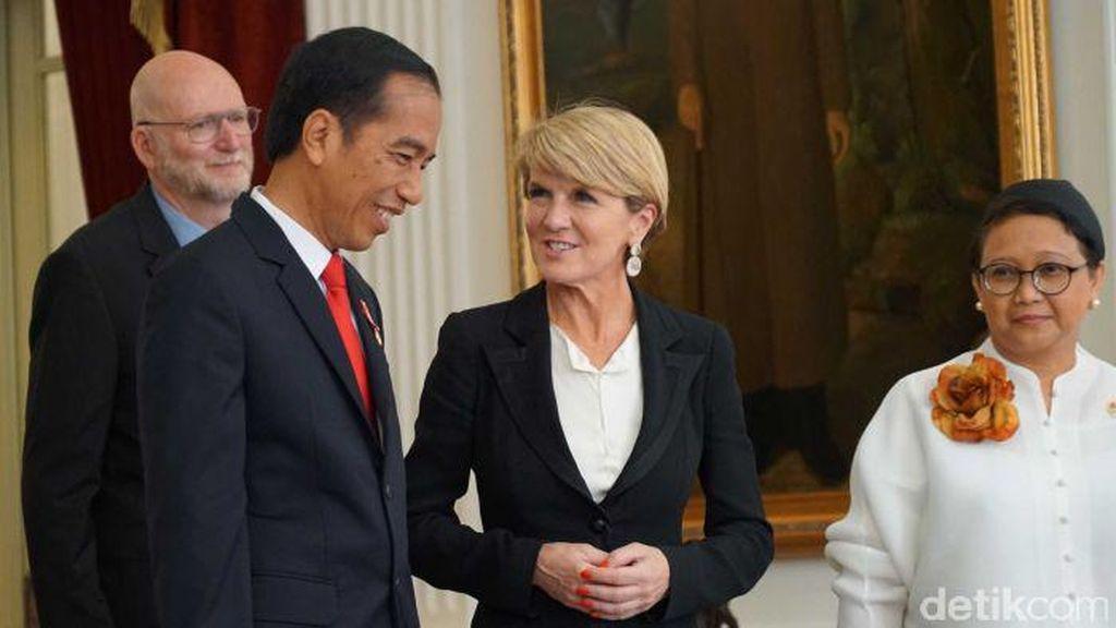 Bishop: Hubungan Indonesia -Australia Sangat Baik