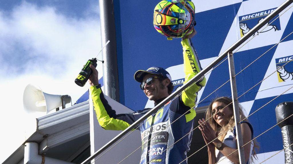 Rossi Bersiap untuk Balapan yang Menguras Fisik di Sepang
