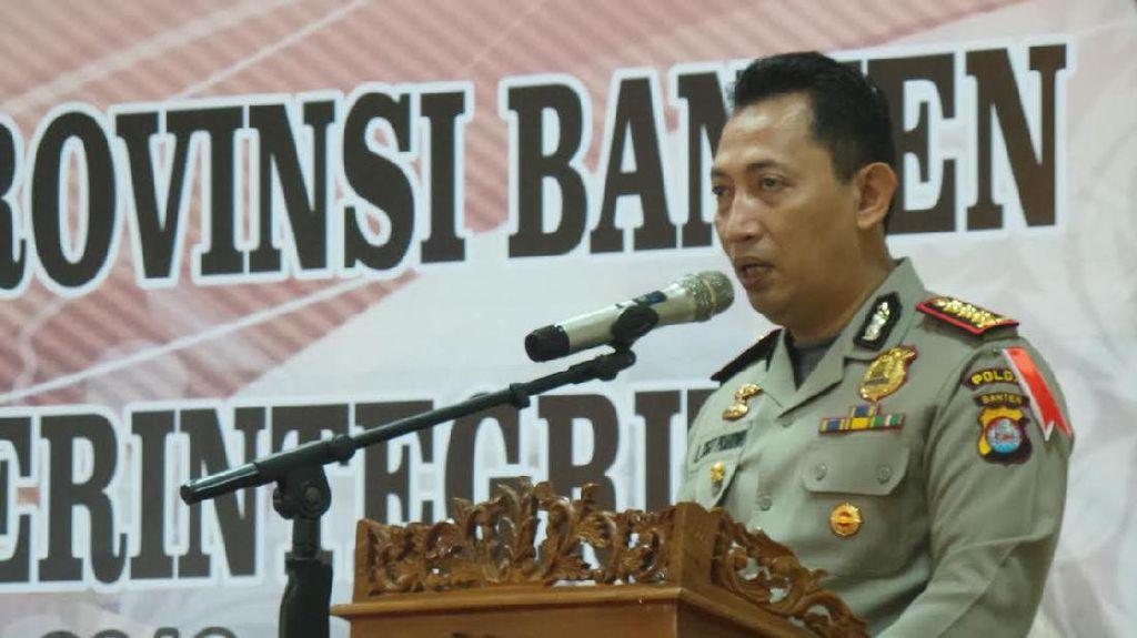 Kapolda Banten: Yel-yel Pendukung Pilkada Harus Konstruktif dan Tak Menyerang