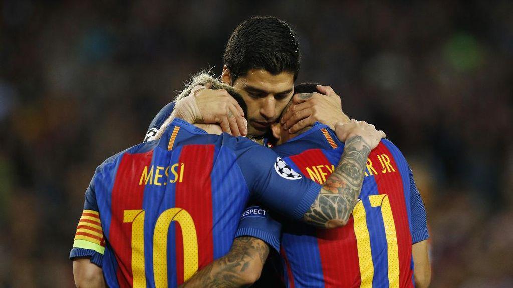 Dua Tahun MSN: 264 gol dan Hanya Kalah Tajam dari Madrid serta PSG