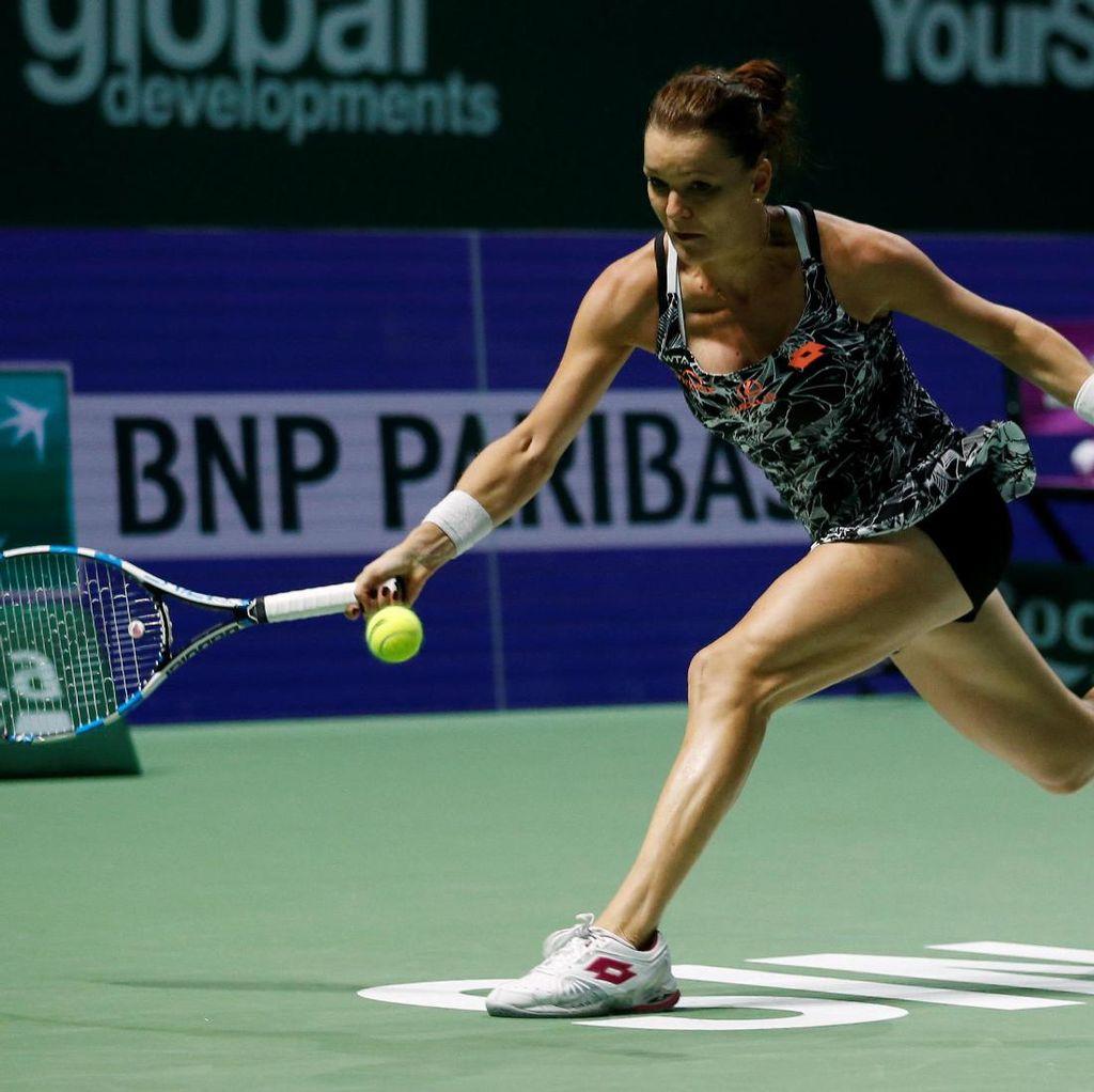 Radwanska Singkirkan Muguruza, Kuznetsova ke Semifinal