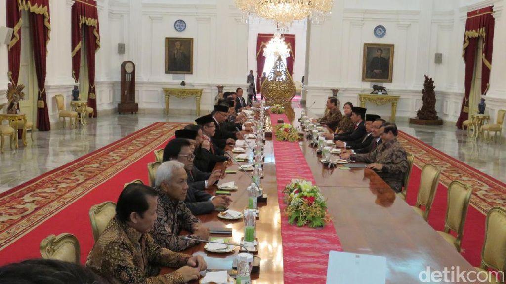 Jokowi-JK Kumpulkan Ketua Lembaga Tinggi Negara Bahas Reformasi Hukum