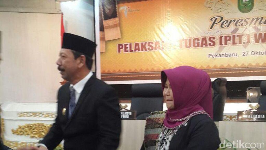 Gubernur Riau Tunjuk Kepala BPBD Plt Wali Kota Pekanbaru