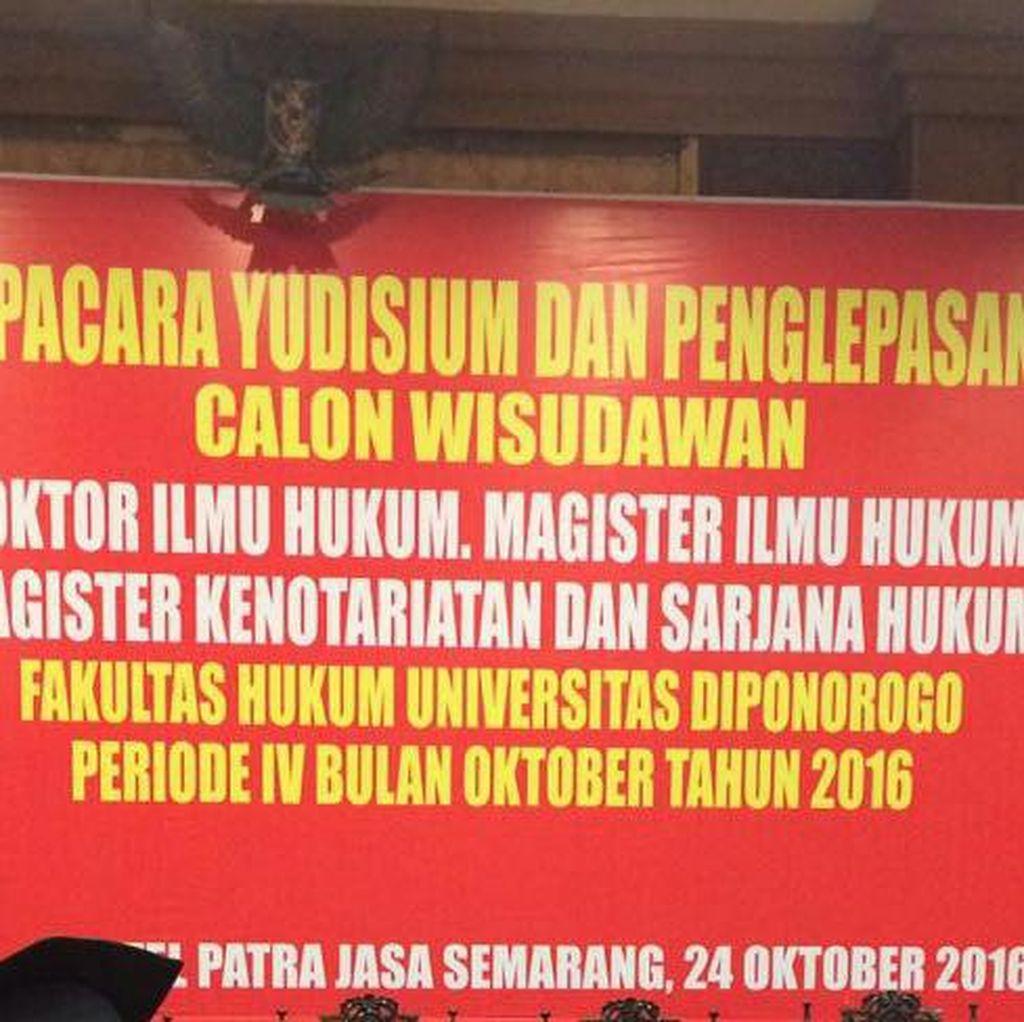 Viral di Medsos, Salah Tulis Universitas Diponegoro Jadi Diponorogo