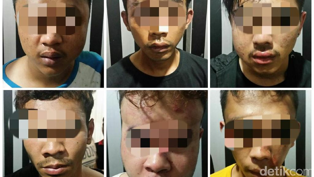 Polisi Ringkus Enam Begal Sadis Bersenjata Tajam di Sukabumi