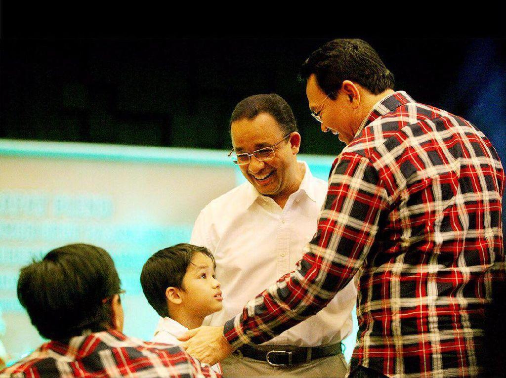 Saat Anak Anies Baswedan Ingin Bersalaman dengan Ahok dan Agus Yudhoyono