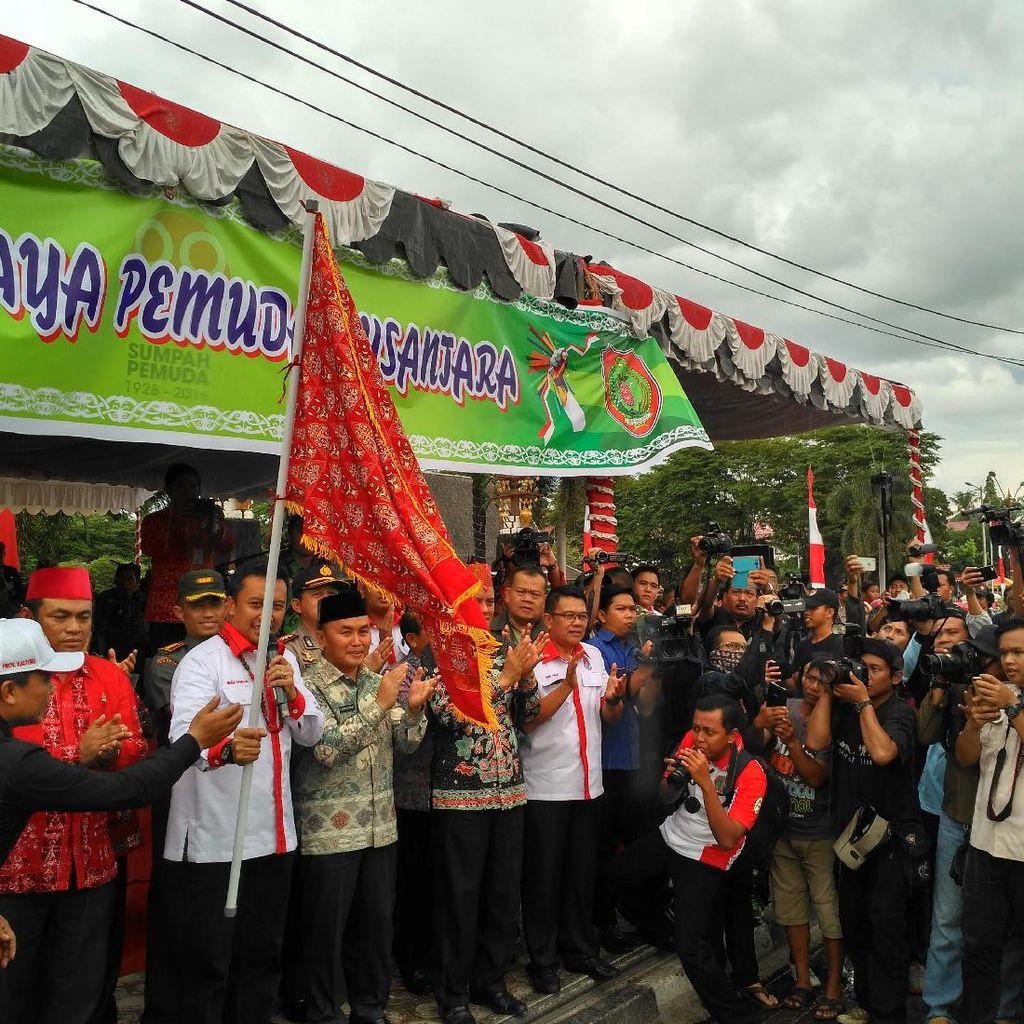 Buka Kirab Sumpah Pemuda di Palangkaraya, Menpora Minta Warga Jaga Persatuan