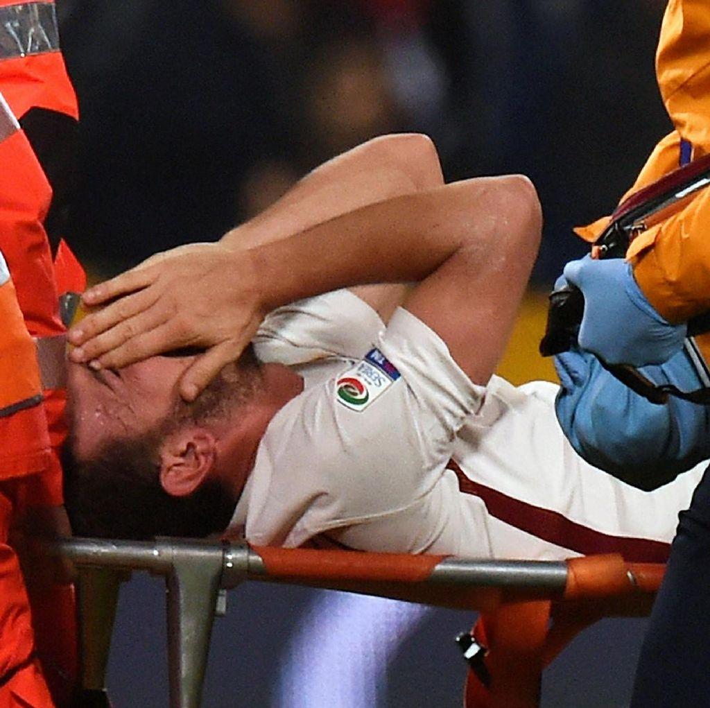 Cedera Lutut, Florenzi Harus Jalani Operasi