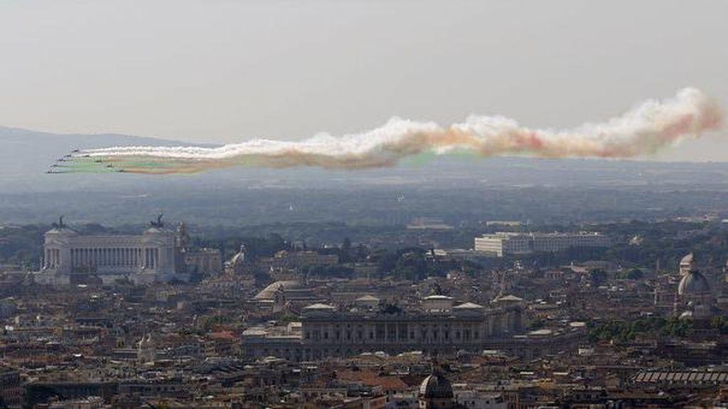 2 Gempa 6 SR dan 5,4 SR Guncang Italia, Tak Ada Korban Jiwa