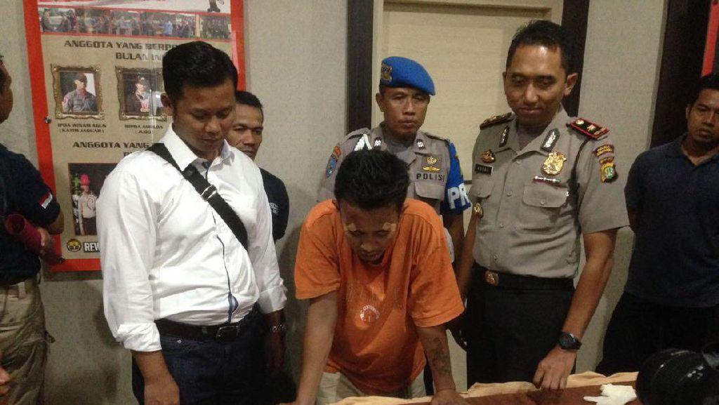 Pencuri Berjimat Gigi Nenek Tumbang Setelah Ditembak Polisi