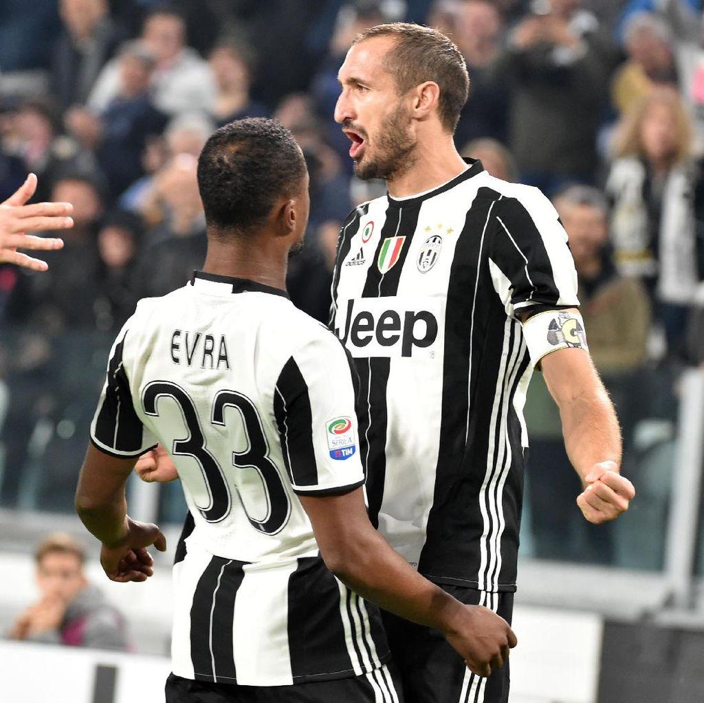 Juventus Hantam Sampdoria 4-1