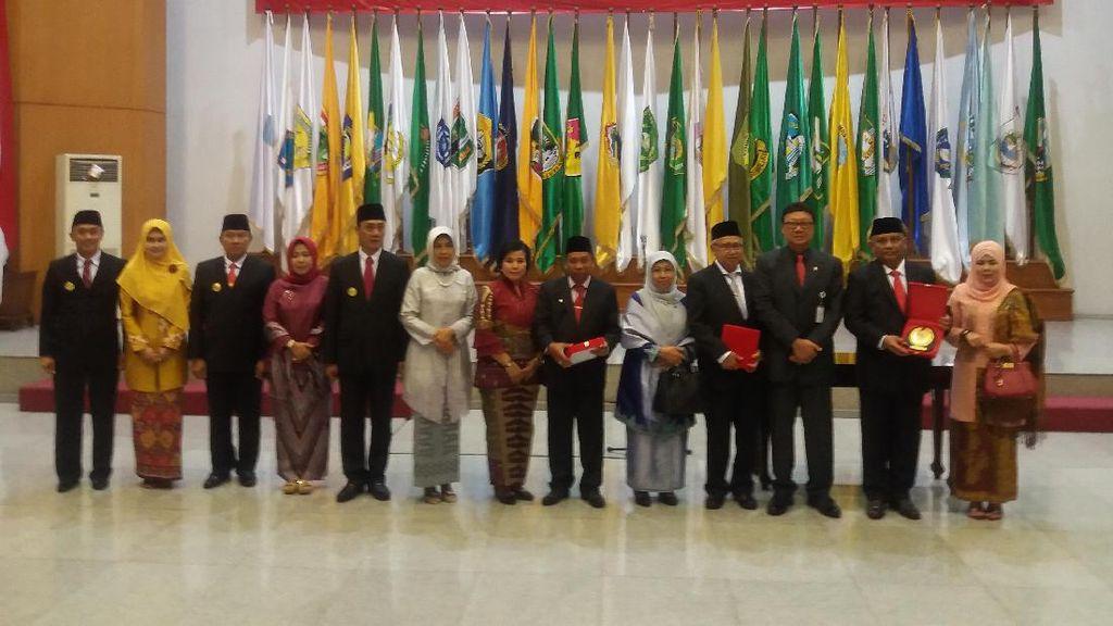 Plt Gubernur Aceh, Gorontalo dan Bangka Belitung Resmi Dilantik