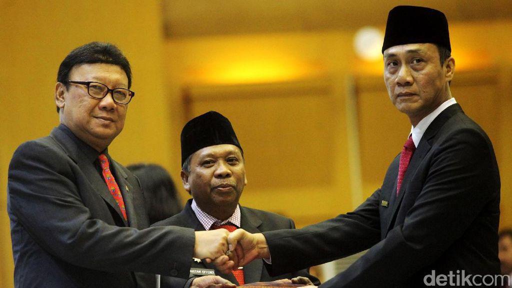 Mendagri Lantik Plt Gubernur Aceh, Gorontalo dan Bangka Belitung