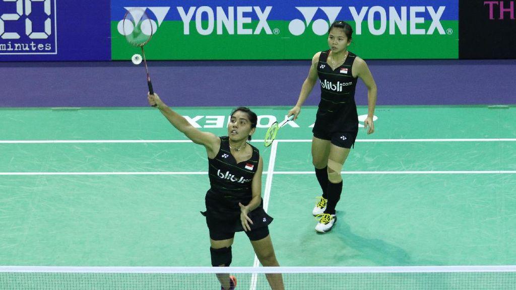 Greysia/Nitya Melangkah Mulus ke Perempatfinal