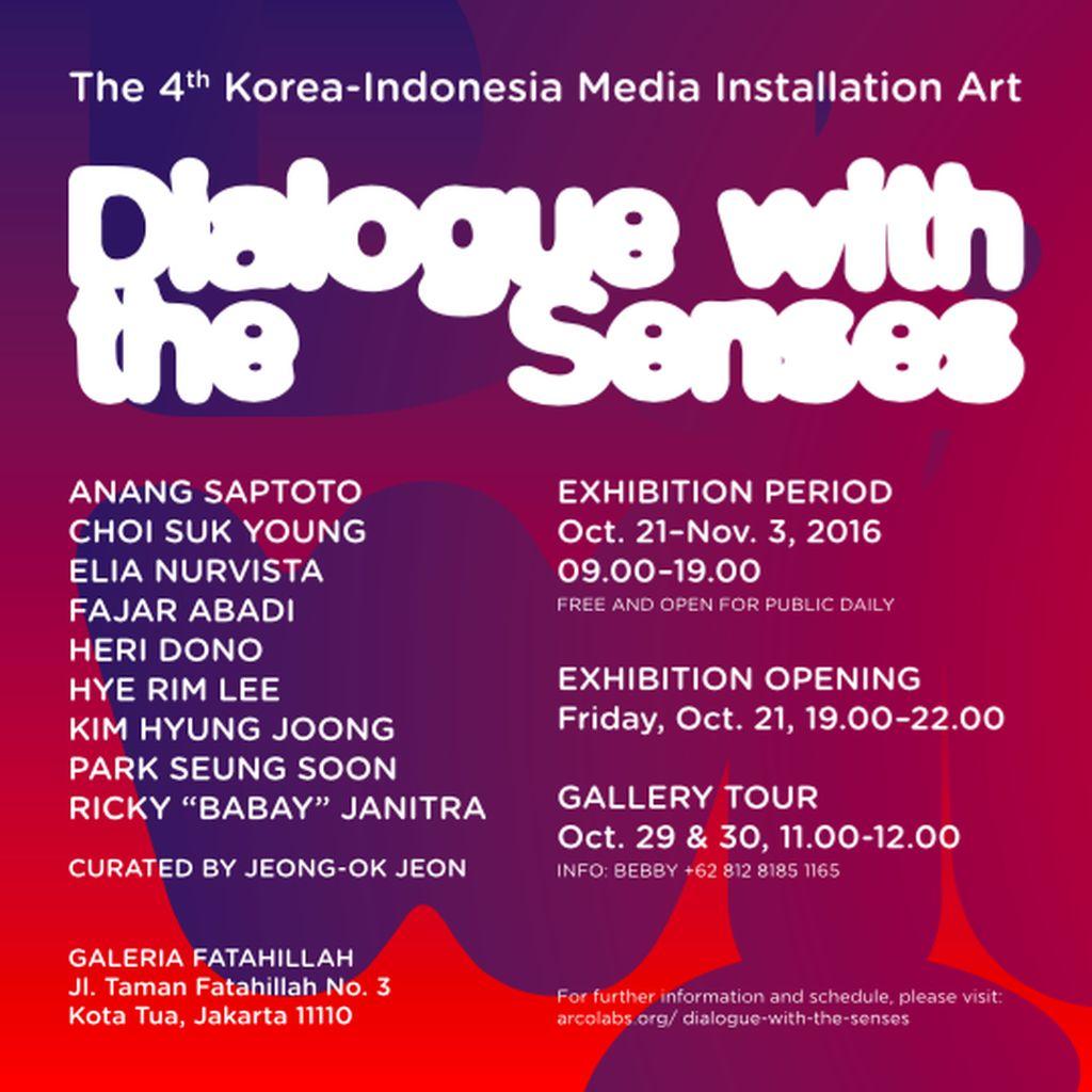 Sembilan Seniman Muda Korea-Indonesia Pameran di Jakarta