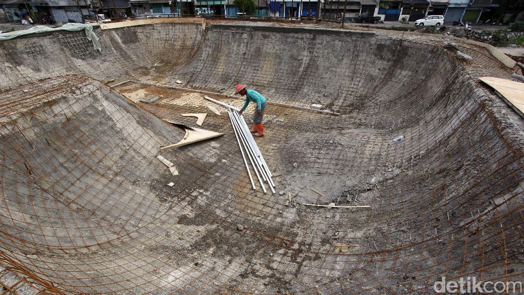 Ada Skateboard Park Berstandar Internasional di Kawasan Kalijodo